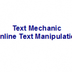 Great Free Online Tool For Automatically Manipulating Text