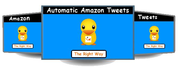 automatic amazon tweets