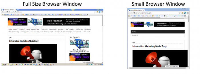 browser window size