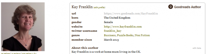 Kay Franklin Goodreads