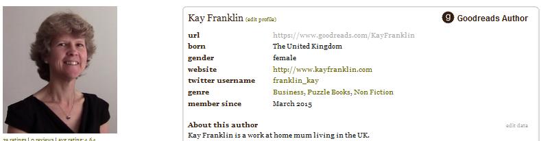 Kay Franklin Goodreads
